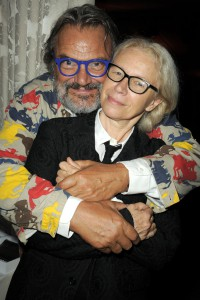 Oliviero Toscani and Dominique Issermann