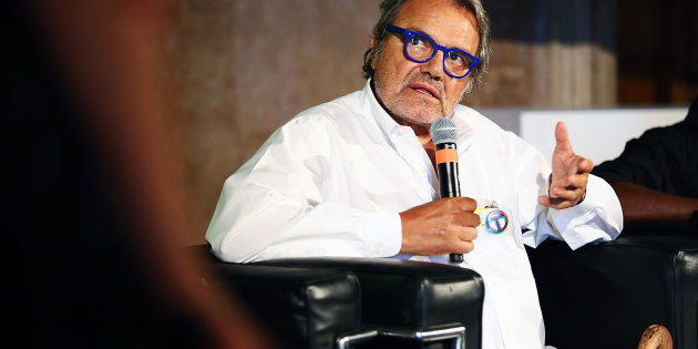 ROME, ITALY - JULY 05:  Photographer Oliviero Toscani attends the Master Of Photography press conference at Villa Medici on July 5, 2016 in Rome, Italy.  (Photo by Ernesto Ruscio/Getty Images)
